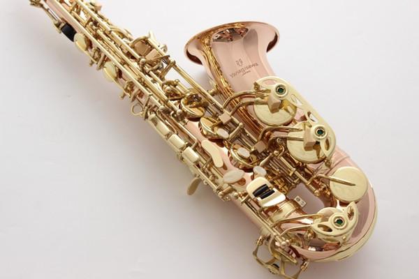 Best Quality Yanagisawa Alto Saxophone A-WO10 Phosphor Bronze Copper Gold Key Sax Alto Mouthpiece Ligature Reeds Neck With Case