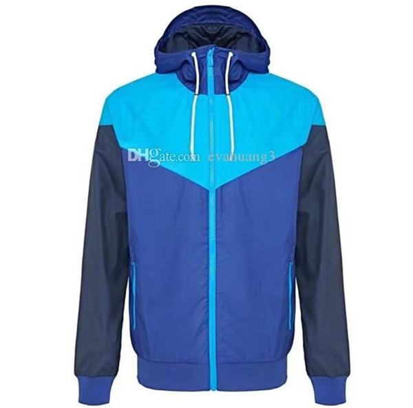 best selling Free shipping Men Spring Autumn Windrunner jacket Thin Jacket Coat,Men sports windbreaker jacket explosion Black models couple clothin Men's