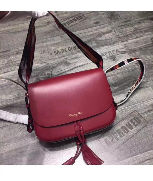 2019 ladies handbag shoulder bag fashion trend casual single chain bag leather bag free shipping Wholesale discount