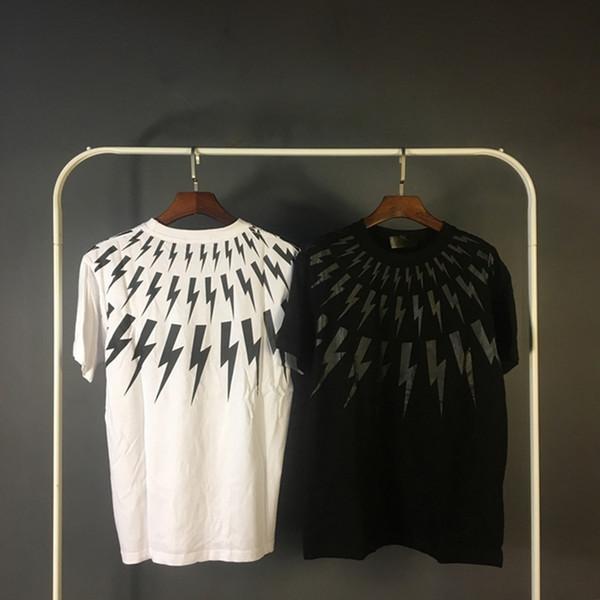19SS Mode Markemens-Designer-T-Shirts der Männer Sommer-Qualitäts-Breathable Kurzarm Herren helle Frauen Printed Rock-T-Shirt-Oberbekleidung