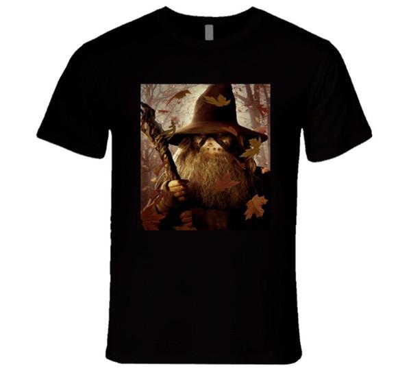 gandalf mixed with jason, perfect halloween costume T Shirt