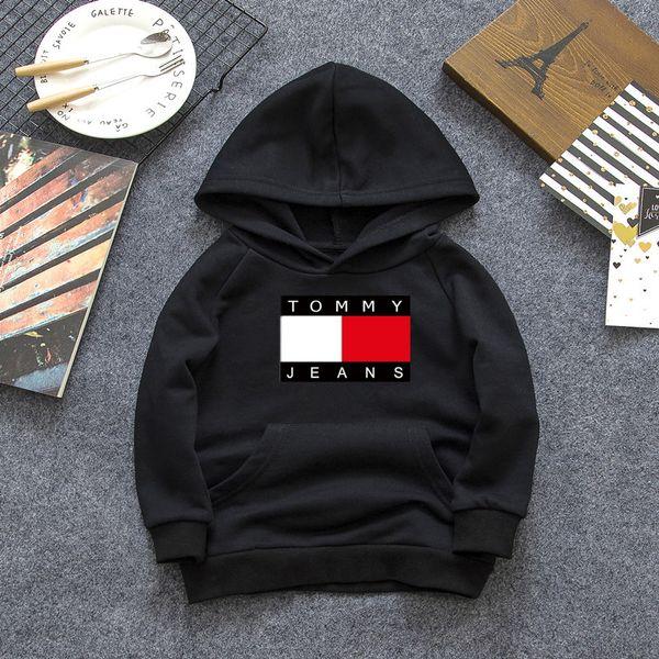 Designer Brand Letter long Sleeve Boys Girls Shirt Jacket Hoodie Sweater 100% Cotton long Sleeve 3 color 2-7T @0298