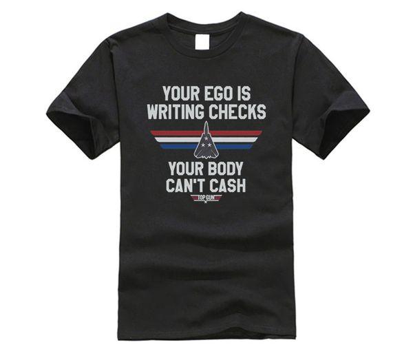 Writing Checks Top Gun T-Shirt
