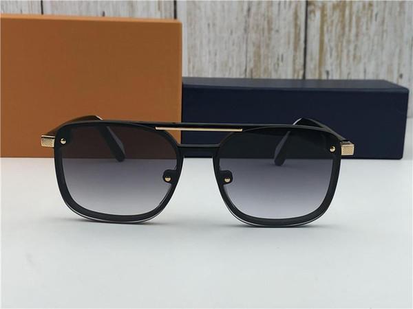 New Fashion Designer MEN Sonnenbrille PLAYER 1023 quadratischen Rahmen verfügt über Material beliebten einfachen Stil Top-Qualität uv400 Schutzbrillen