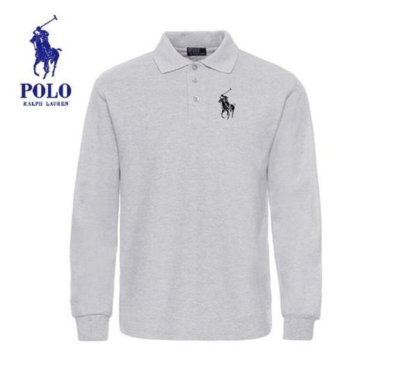 Çocuk Polo Gömlek Yaz kadın Ve erkekler Tees Uzun Kollu Tees Pamuk Blend Rahat Çocuklar Polos En İyi Kalite S-3XL Çocuklar Polo Gömlek lw42616