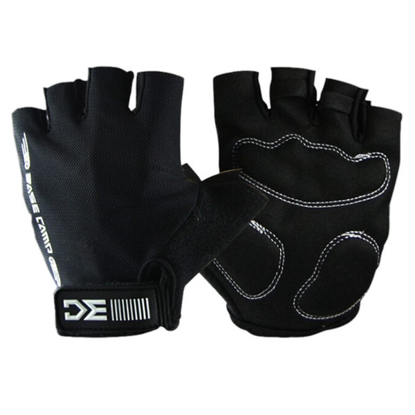 Summer Cycling Gloves Half Finger Bike Sports Gloves Sponge Pad Breathable Racing MTB Bicycle Cycle