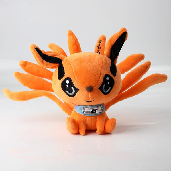 2019 nuova moda 17cm Naruto Shippuden peluche Kurama Kyuubi Nine Tales Fox ripiene bambola