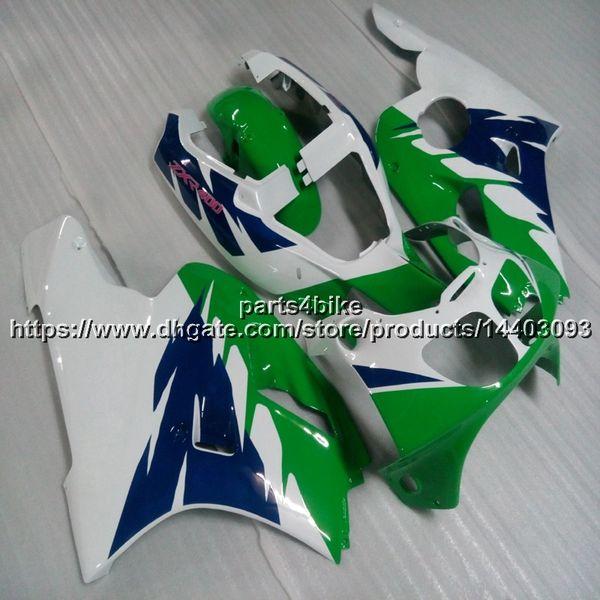 23 couleurs + 5 ponts vert carrosserie moto carénage pour Kawasaki ZXR400 1991 1992 1993 ZXR 400 91-93 Kit carrosserie panneaux de moto