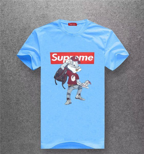 nuovo stile di arrivo della maglietta degli uomini di marca di alta qualità T-shirt da uomo in cotone di alta qualità T-shirt G6692