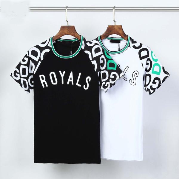 2020ss Hip-hop men's fashion high-quality Medusa printed T-shirt men's and women's summer short-sleeved T-shirt 2 styles.