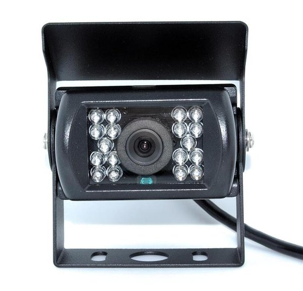 12V/24V Auto Rear View 360 Degree Rotation Wide Angle 18 LED Night Vision IP68 Waterproof Car Rear View HD Parking Camera for Truck BUS