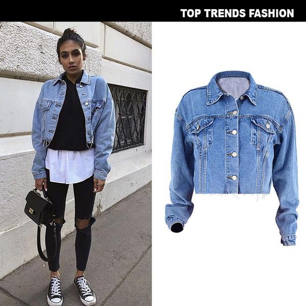 11 Best Long denim jacket images | Long denim jacket, Casual