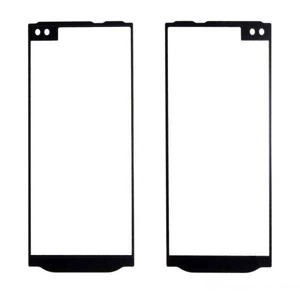 High quality 50PCS Outer Front Screen Glass Panel Lens Replacement for LG G5 H820 VS987 V10 H900 H901 free DHL