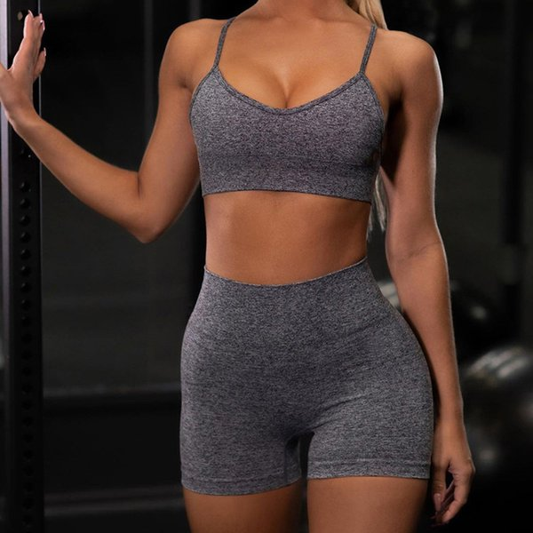 Grey Bra Shorts