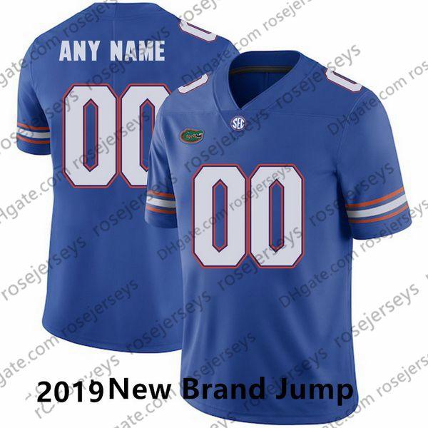 Blaue neue Marke