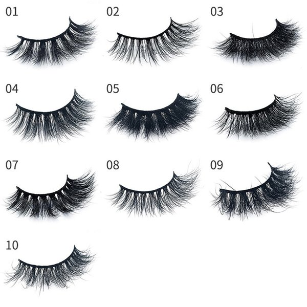 YAHLIGS YAHLIGS New 2019 Natural False Eyelashes 3d Mink Lashes Extension Eyelash Soft Mink Eyelashes For Beauty With Gift Box YA28