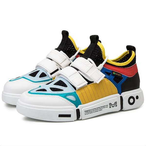 2019 neueste Laufschuh Männer Outdoor Vogue Multicolor Herbst Herren Turnschuhe High Top Zapatillas Hombre