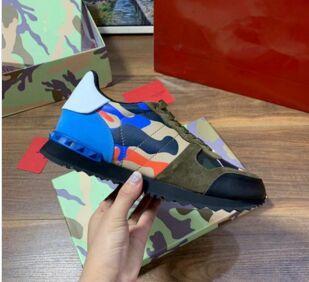 Echter Herren-Leder-Mode Luxus-Designer-Schuhe weißes Leder Offen Sneaker mit schwarzem Weiß Trainer Chaussures Basket 38-45 hff02