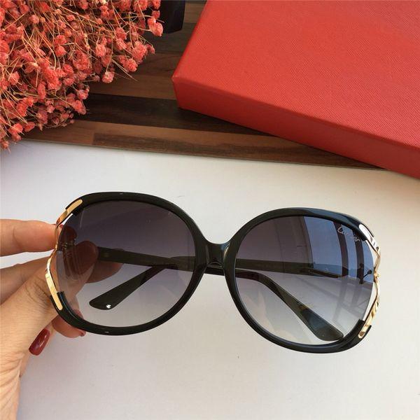 2018 woman vintage EYEGLASSES FRAMES WOOD SUNGLASSES Wood Half Rim Eyeglasses plated Santos Designer in Box numC181128-13