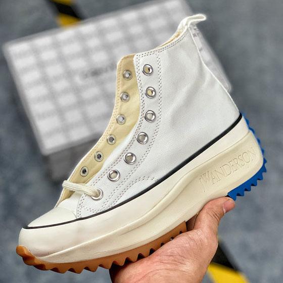Avec Box Women J.W. JW Anderson Chuck Run Star Randonnée Chaussures vulcanisées pour femmes Bottes en toile Femmes Baskets Plateforme Chaussures Filles Sneaker