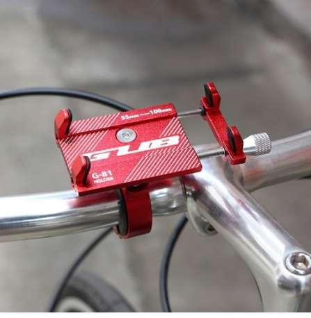 Bicycle Phone Holder For iPhone Samsung Universal Mobile Cell Phone Holder Bike Handlebar Clip Stand GPS Mount Bracket