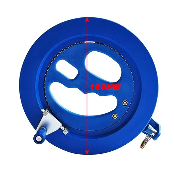 High Quality 16cm Kite Reel ABS Plastica Blu 200 m Kite Reel Grip Winder Strumenti di volo Avvolgimento Aquiloni Accessori