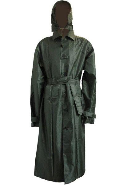 Soldat Militaire Américain Style Coupe-Vent Coupe-Vent Imperméable Manteau Poussière Trench-Coat Hommes Manteau Plus La Taille 210D En Nylon PU Tissu # 17081