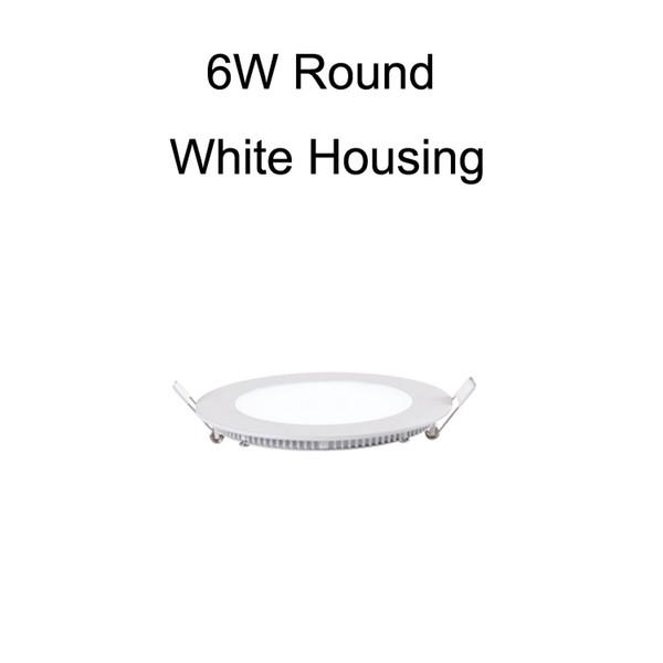 6W الأبيض جولة الإسكان