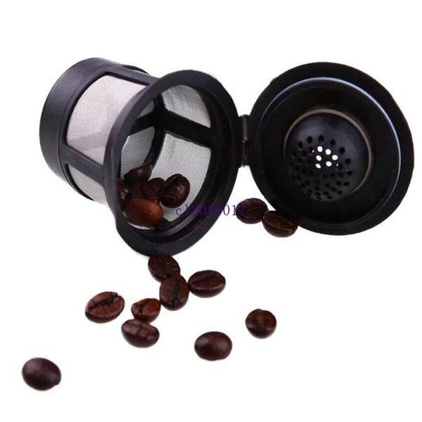 новый 3 шт./компл. многоразовые многоразового использования кофе фильтр корзина K-чашки для Keurig 1.0 из нержавеющей стали сетки совместимый стручок системы