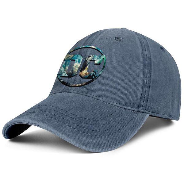 Men womens vintage Denim hat washing Adjustable Aquaman DC Comics vector logo designer trucker caps cute Dad hats Outdoor