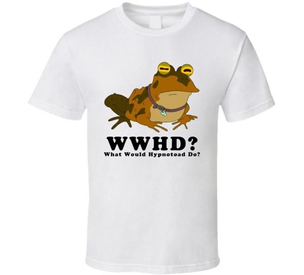 Что бы Hypnotoad Делать Futurama Футболка Мужчины Женщины Мужская Мода футболка Бесплатная Доставка черный