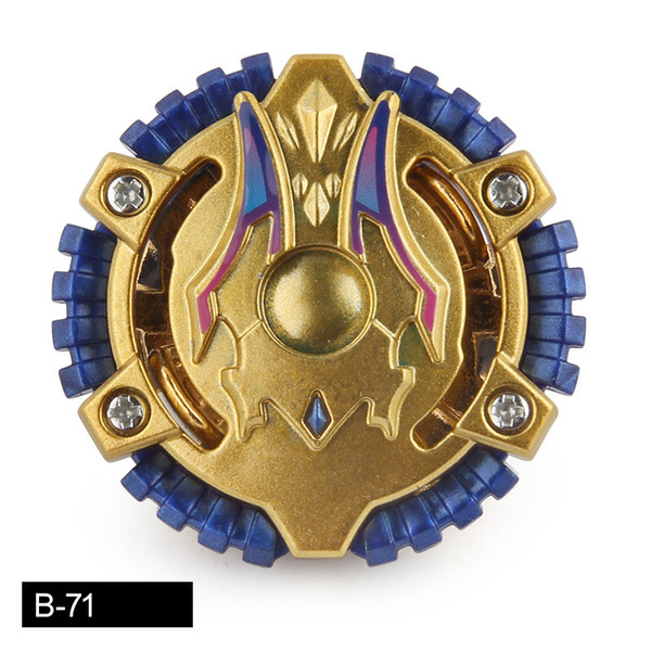 Gold Color Beyblade Burst B-71 Golden ACID ANUBIS.Y.O without Launcher Box Metal Booster spinning Top Starter Gyro Toy Kid Gift