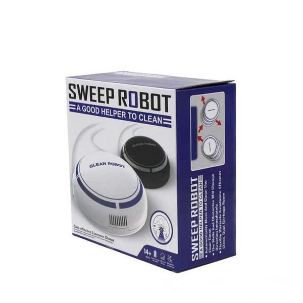 Ménage Mini Bande Dessinée Rechargeable Intelligent Robot Mince Slim Aspiration Machine Petit Mini Aspirateur Balayage