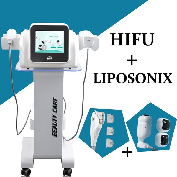 Hot Selling Skin Care Tools HIFU Therapy wrinkle removal Liposonic Slimming Beauty Equipment face lifting Fat Reduction treatment