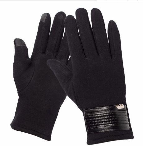 Guanti Uomo Touch Screen Guanti caldi per maglieria Five Fingers Female Mittens Sport Glove