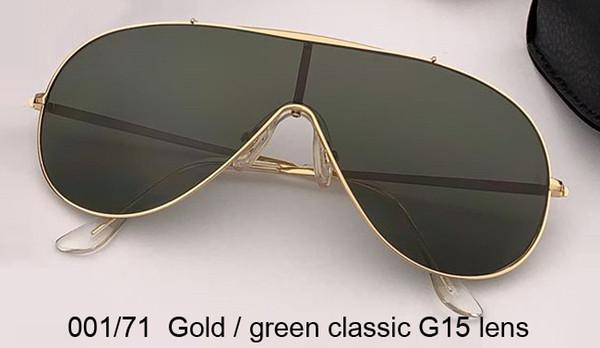 objectif G15 classique doré / vert
