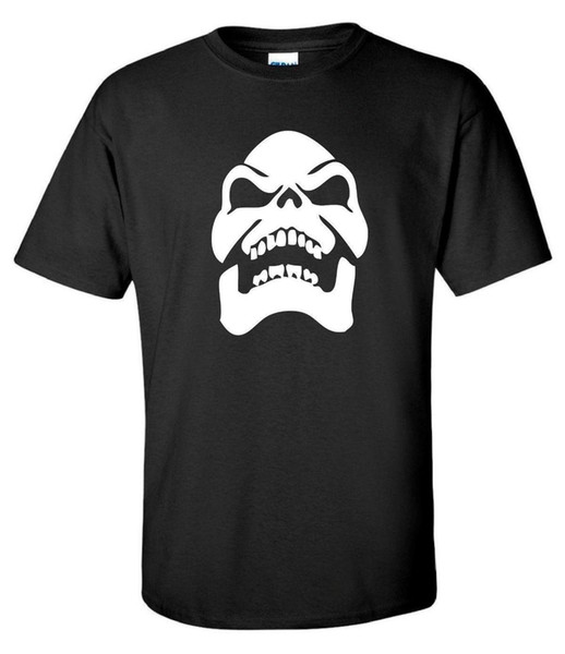 Skeletor Skull He-man 80s Cartoon Movie Retro Mens T-Shirt