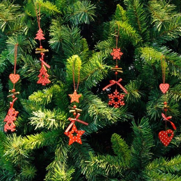 Wind Chimes Christmas Tree Ornaments Snowflake Heart Star Bell Xmas Pendant Party Home Christmas Decor Navidad Decoration