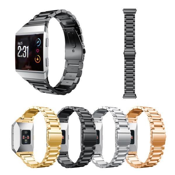 Tres grano correa de acero inoxidable Para la banda de reloj para la banda iónica correa de accesorios pulsera