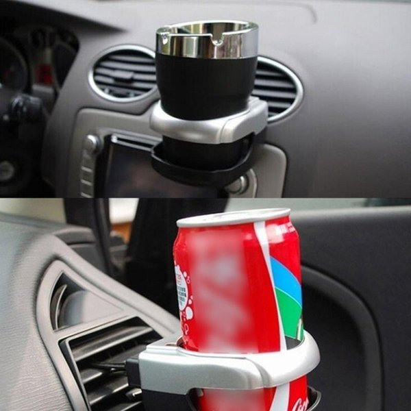 best selling Hot Car Air Condition Vent Outlet Can Water Bottle Cup Mount Holder 2017