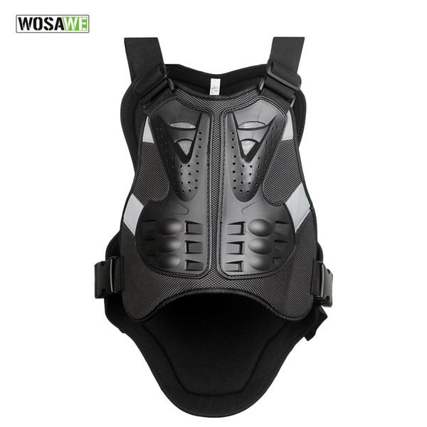 WOSAWE Giacca da moto per giubbotti antiproiettile Pettorina per motocross Protezioni per la schiena Equipaggiamento da corsa Protezioni per il corpo Protezioni Protezioni PE Supporto per la schiena