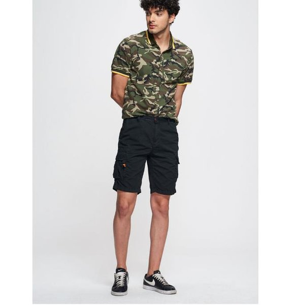 Mens Summer Solid Color Cargo Pants Loose Zipper Button Pocket Homme Shorts Fashion Relaxed Casual Clothing
