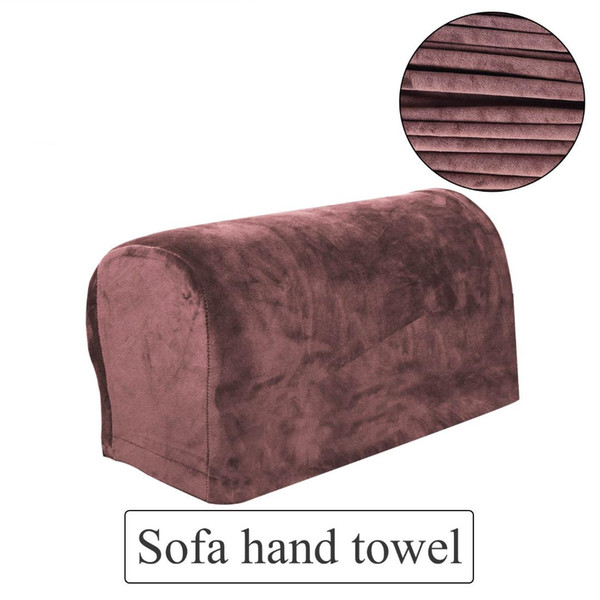 Tremendous Fashion New Sofa Armrest Tower Dustproof Solid Cover Protector For Chair Armchair Sofa Recliner Couch Slipcovers Slipcovers For Dining Chairs Dining Uwap Interior Chair Design Uwaporg
