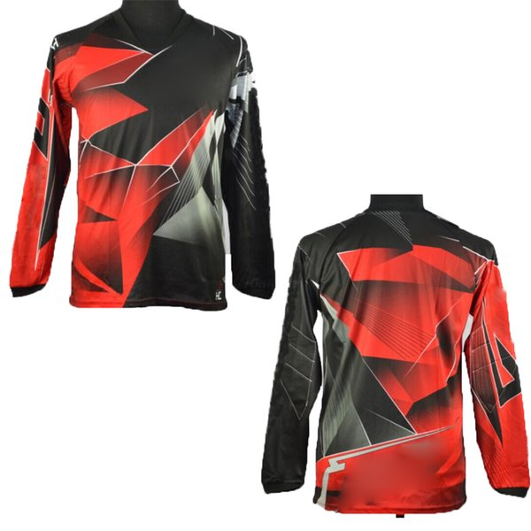 Men's Style Off road Motocross Jerseys Dirt bike ATV DH MX Mountain Bike downhill shirts motorcycle t shirt Racing Jerseys KK