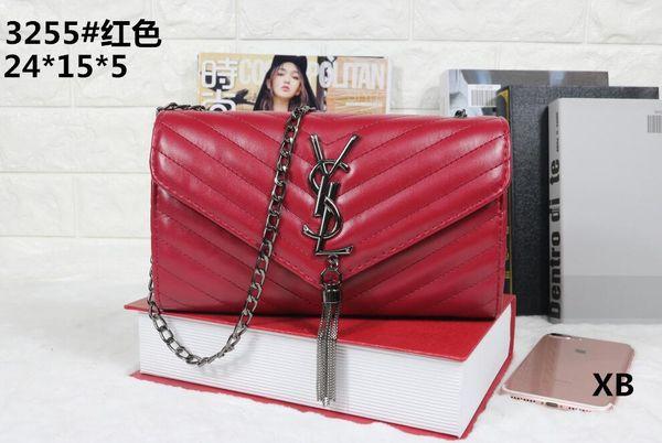 Europe and America brand women's handbag Fashion women messenger bag rivet single shoulder bag High quality female bag handbags wallets A18