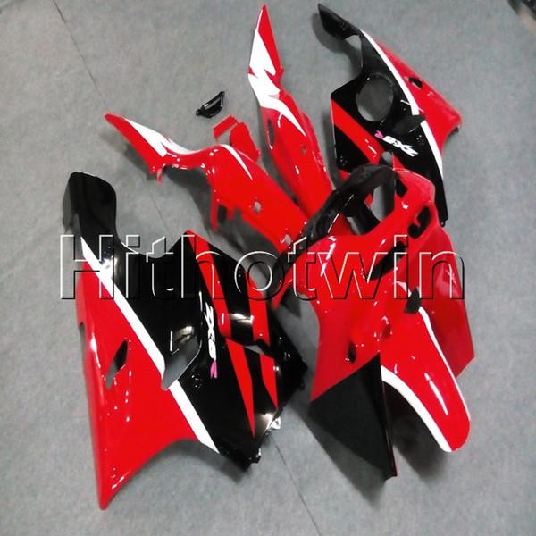 23colors + 8Gifts cappuccio rosso moto per Kawasaki ZX-6R 1994 1995 1996 1997 della carenatura del motore in plastica ABS