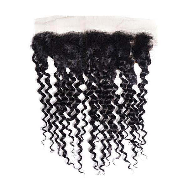 Tiefwellen-menschliches Haar