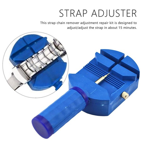 Unloading Watch Band Adjust Tool Slit Strap Bracelet Chain Pin Remover WatchBand Adjuster Repair Tool Kit Watch Accessories