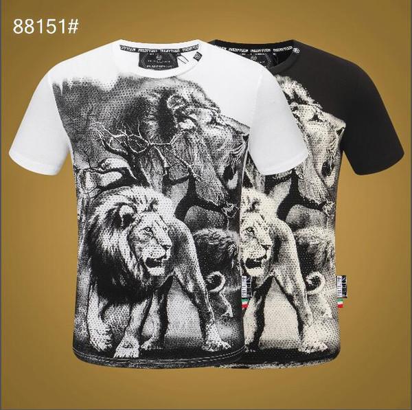 2019 Moda Pop Marka LOGO Tasarım Erkekler T Gömlek Streetwear Tops rahat Yaz Kısa Kollu Komik erkekler T Gömlek Erkek Artı Asya boyutu 3xl # 4402
