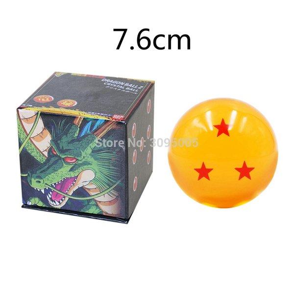 7,6 centímetros O 3S Com Box